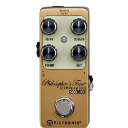 Pigtronix Philosophers Tone Gold Micro