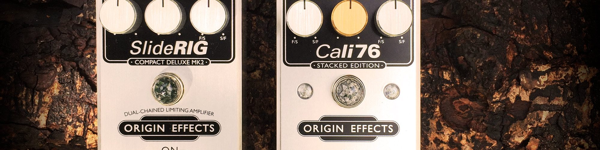 Origin Effects Cali76 Stacked Edition & Sliderig Deluxe MKII