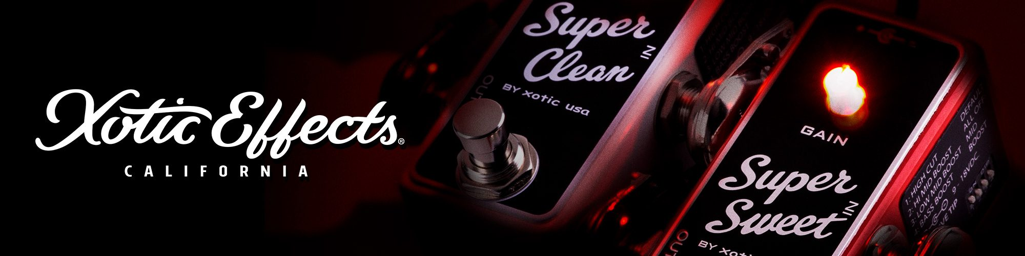 Xotic Super Sweet & Super Clean