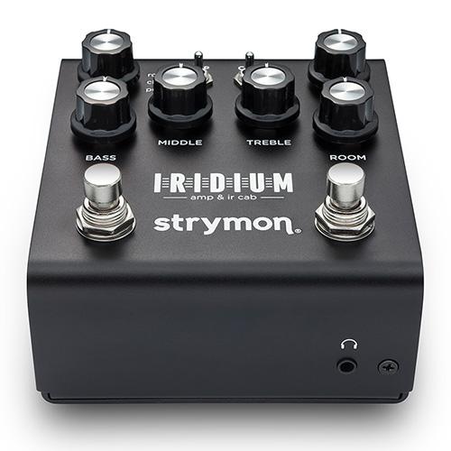 Strymon Iridium Amp & IR Cab - angled front view