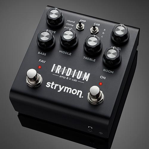 Strymon Iridium Amp & IR Cab - on black