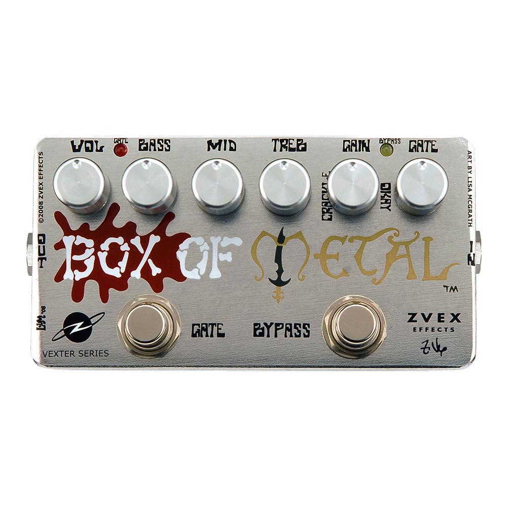 Zvex Box of Metal Vexter