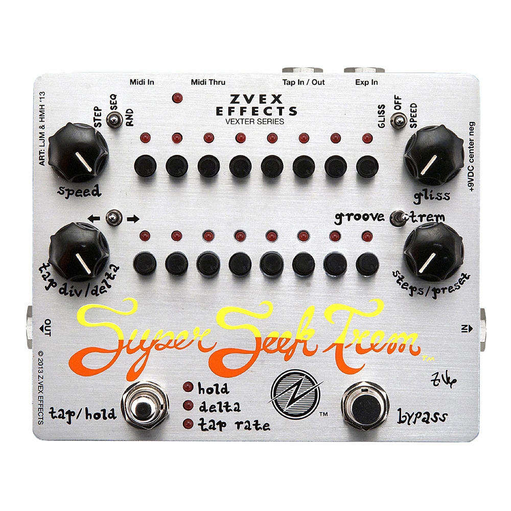 ZVEX Super Seek Trem vexter series
